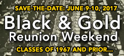 Black and Gold Reunion Weekend 2017